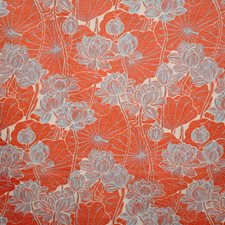 Persimmon Contemporary Decorator Fabric by Pindler
