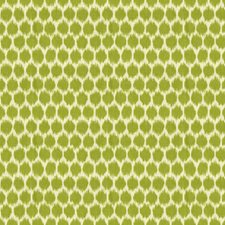White/Green Dots Decorator Fabric by Kravet
