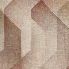 Beige/Rust/Gold Modern Decorator Fabric by Kravet