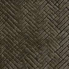 Taupe/Bronze Herringbone Decorator Fabric by Kravet
