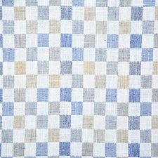 Chambray Check Decorator Fabric by Pindler