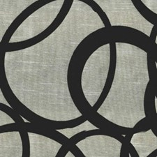 Silver/Black Decorator Fabric by RM Coco