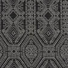 Black Transitional Decorator Fabric by JF