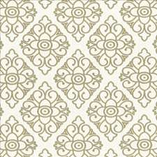 White Decorator Fabric by Kasmir