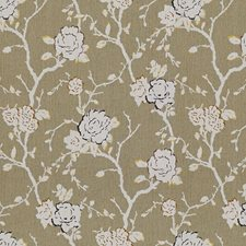 Cinder Botanical Decorator Fabric by Kravet