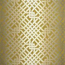 Saffron Lattice Decorator Fabric by Groundworks