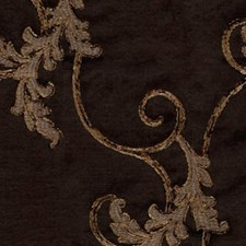 Dark Brown Decorator Fabric by RM Coco