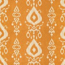 Beige/Orange Ethnic Decorator Fabric by Kravet