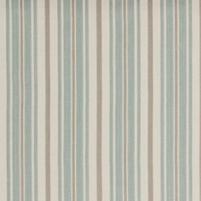 Aqua Stripes Decorator Fabric by Baker Lifestyle