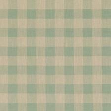 Soft Aqua Decorator Fabric by Baker Lifestyle