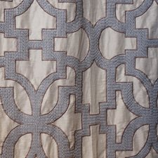 Blue/Grey/Silver Transitional Decorator Fabric by JF