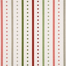Pink/Green Print Decorator Fabric by Baker Lifestyle