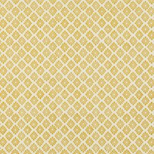 Yellow Diamond Decorator Fabric by Baker Lifestyle