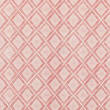 Rustic Red Print Decorator Fabric by Baker Lifestyle