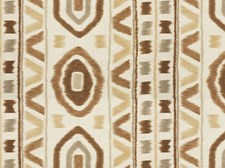 Rattan Ikat Decorator Fabric by Kravet