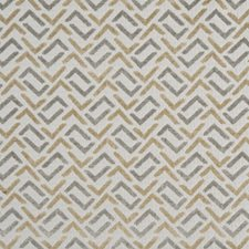 Silver/Gold Decorator Fabric by Maxwell