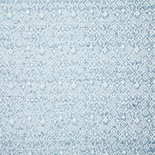 Aqua Ethnic Decorator Fabric by Pindler