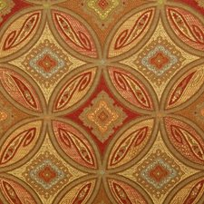 Spice Damask Decorator Fabric by Pindler