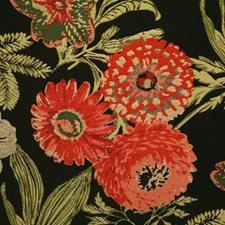 Noir Damask Decorator Fabric by Pindler