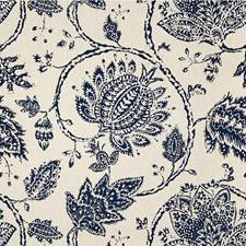 Sapphire Jacobeans Decorator Fabric by Kravet