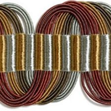 Braids Burgundy/Red/Rust Trim by Kravet
