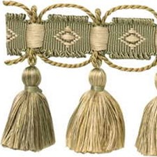 Tassel Fringe Green Tea Trim by Kravet