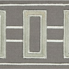 Braids Steel Grey Trim by Kravet