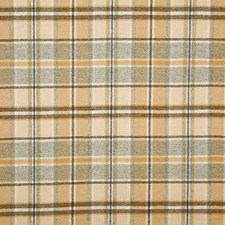 Camel Check Decorator Fabric by Pindler