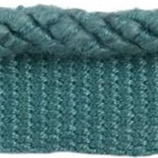 Cord With Lip Teal Trim by Groundworks