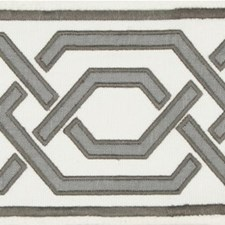 Tapes Charcoal Trim by Lee Jofa
