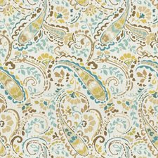 Pool Paisley Decorator Fabric by Kravet