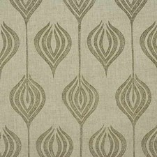 Natural/Stone Modern Decorator Fabric by Groundworks