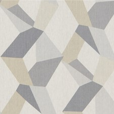 Oyster Geometric Decorator Fabric by Kravet
