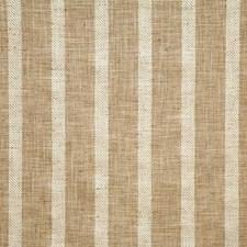 Burlap Stripe Decorator Fabric by Pindler