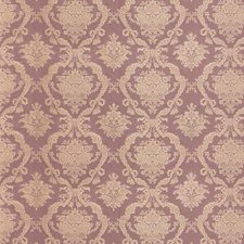 Mauve Damask Decorator Fabric by Scalamandre