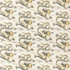 Gold Asian Decorator Fabric by Kravet