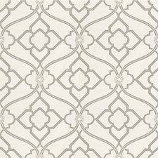Pewter Botanical Decorator Fabric by Kravet