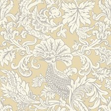 Vintage Yellow Print Wallcovering by Cole & Son Wallpaper