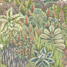 Green Print Wallcovering by Cole & Son