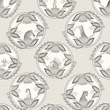 Grey Print Wallcovering by Cole & Son