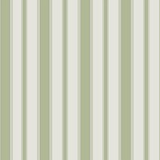 Leaf Green Stripes Wallcovering by Cole & Son Wallpaper