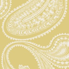 Yellow/White Sidewall Wallcovering by Cole & Son Wallpaper
