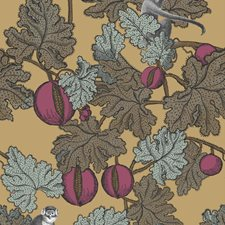 Magen/Gld Print Wallcovering by Cole & Son Wallpaper