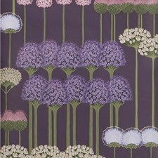 Mulb/Heather/Violet Print Wallcovering by Cole & Son Wallpaper
