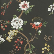 White/Red/Charco Print Wallcovering by Cole & Son Wallpaper