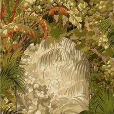 Khaki Multi Botanical Wallcovering by Cole & Son Wallpaper