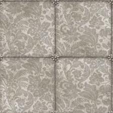 M Slvr Foil Damask Wallcovering by Cole & Son Wallpaper