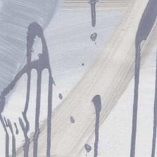 Blue Hues On Marshmallow Manila Hemp Wallcovering by Phillip Jeffries Wallpaper
