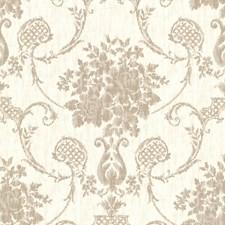 Linen Transitional Wallpaper Wallcovering by Brewster