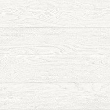 White Faux Effects Wallcovering by Brewster